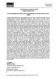 Comissão Local de Acompanhamento e Controle Social - UMC