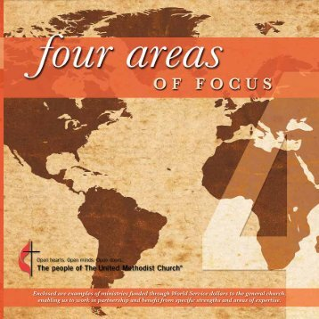 Four Areas of Focus - The United Methodist Church