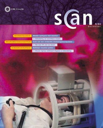 Scan 6, december 2003 - UMC Utrecht