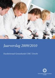 Jaarverslag 2009/2010 - UMC Utrecht