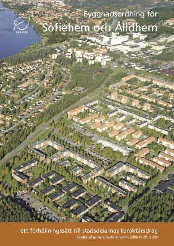 Byggnadsordning för Sofiehem och Ålidhem - Västerbottens museum