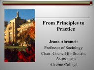 From Principles to Practice: Session 1
