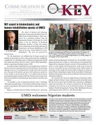 COMMUNICATION IS - University of Maryland Eastern Shore