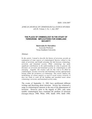 A Refutation of Racial Differentials in the Juvenile Recidivism Rate ...