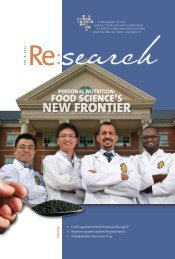 Personal Nutrition: Food Science's New Frontier - University of ...