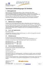 Technische Lieferbedingungen für Drehteile_V1.3-2009.1