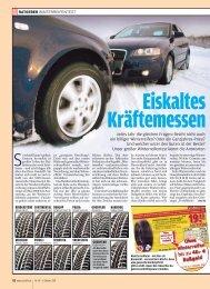 Eiskaltes Kräftemessen - Auto Bild