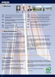UMETA-Chronik Achtung! Sicherheitshinweise Allgemeine Hinweise