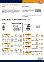 Type H1 ACCORDING TO SAE J-534 Umeta grease Fittings ...