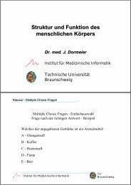 Vorl. IX - Druckversion (1,2 MB) - Technische Universität ...