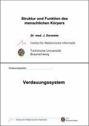 Vorl. VII - Druckversion (0,45 MB) - Technische Universität ...