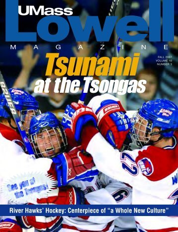 River Hawks' Hockey: Centerpiece of - University of Massachusetts ...