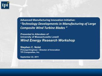 Presentation - University of Massachusetts Lowell