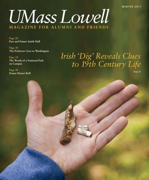 UMass Lowell Winter 2011 Magazine - University of