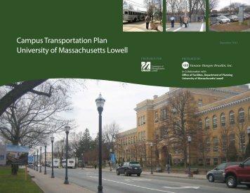 comprehensive campus transportation plan - University of ...