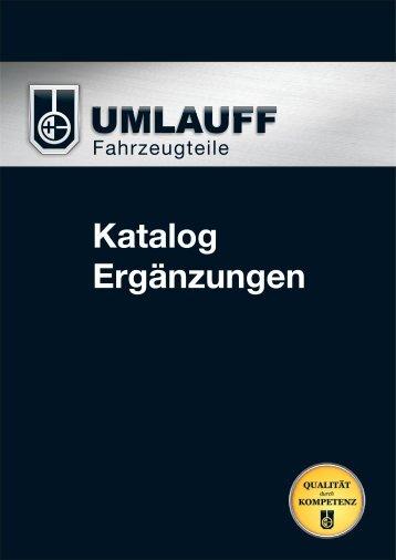 Katalog Ergänzungen.cdr - Umlauff