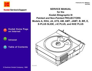 service manual kodak carousel 600 600h 650 micro tools rh yumpu com Slide Projector Bulbs Replacement Lamps kodak carousel slide projector service manual