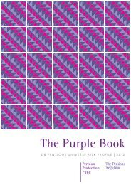 The Purple Book 2012 (PDF, 4670kb) - The Pensions Regulator
