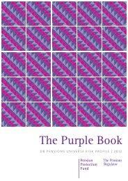 The Purple Book 2012 (PDF, 4670kb) - The Pensions Regulator