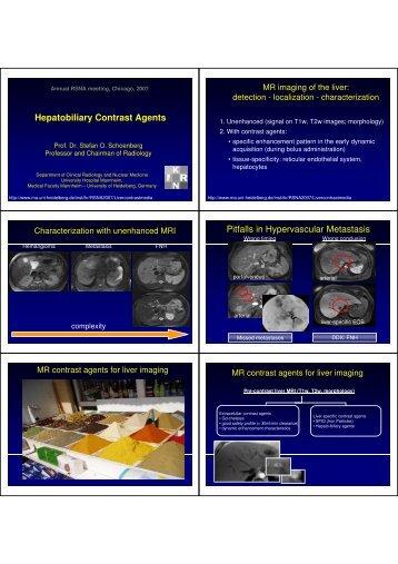 hepatobiliary contrast agents