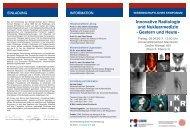 Innovative Radiologie und Nuklearmedizin -Gestern und Heute-