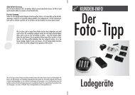 Ladegeräte - Optimal Foto & Studio