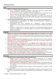 Principes de base en anthracologie - UMR 5059