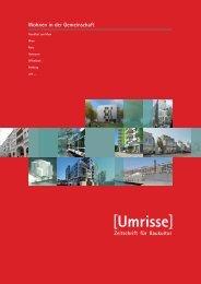 03·2013 - Thema: Wohnen in der Gemeinschaft - Umrisse