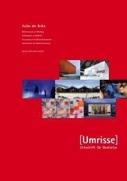 01·2012 - Thema: Außer der Reihe - Umrisse