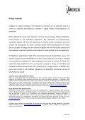 Merck investiert in Kosmetik-Technologie - Merck KGaA - Page 2