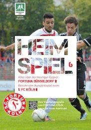 0180 / 55 44 555 - SC Fortuna Köln