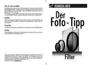 Fototipp Filter