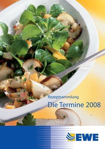 Rezepte zum Download 2008 - Umstellung
