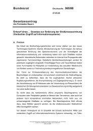 Bundesrat Gesetzesantrag - Umwelt-online
