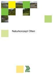 Naturkonzept Olten (5.75 MB) - bei der Umweltfachstelle Olten