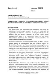 Drucksache 190/13 (PDF) - Umwelt-online