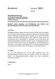 Drucksache 196/13 - Niedersachsen
