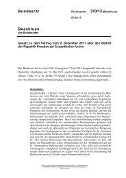 Beschluss Bundesrat - Umwelt-online