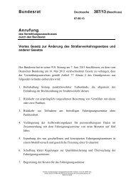 Bundesrat Anrufung - Umwelt-online