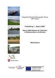 Fachbeitrag 1, Natura 2000, Teil 3 - Bremen