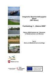 Fachbeitrag 1, Natura 2000, Teil 2 (pdf, 10 MB) - Bremen