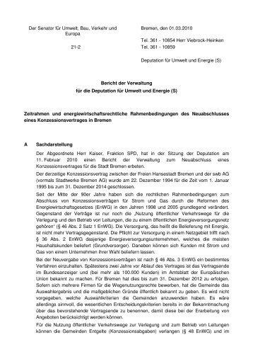 10854 Herr Viebrock-Heinken 21-2 Tel. 361 - 1 - Bremen
