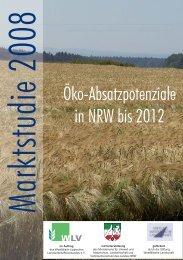 Öko-Absatzpotenziale in NRW bis 2012 - Ministerium für ...