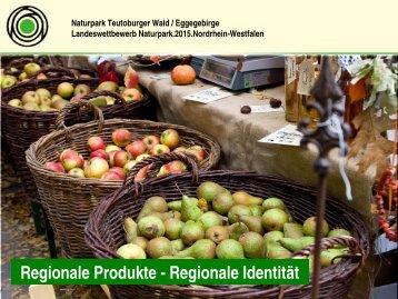 "Naturpark Teutoburger Wald / Eggegebirge - ""Regionale Produkte ..."