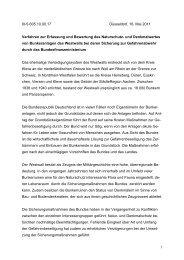 Verfahren zur Erfassung und Bewertung des Naturschutz- und ...