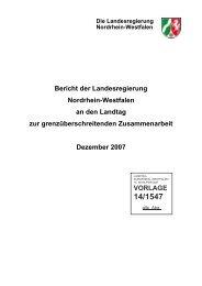 Bericht zur Grenzüberschreitenden Zusammenarbeit