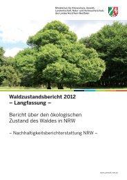 Waldzustandsbericht 2012 – Langfassung - Ministerium für ...