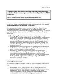 Fragen für FAQ-Liste Bürger / Presse - Ministerium für Klimaschutz ...