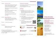 einladung - Ministerium für Klimaschutz, Umwelt, Landwirtschaft, Natur