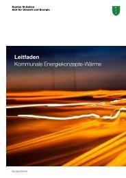 Leitfaden Kommunale Energiekonzepte-Wärme - Umwelt und ...